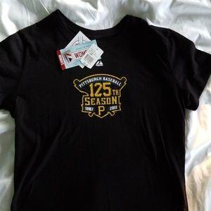 Tops - New Women's Pittsburgh Pirate 125th T-shirt